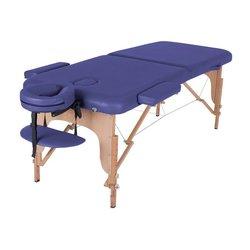 Массажный стол HQ02-MIA, синий