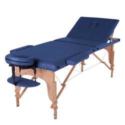 Массажный стол HQ09-SOL, синий