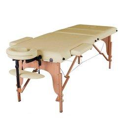 Массажный стол HQ09-SOL, светло-бежевый