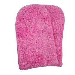 Варежки махра для парафинотерапии Украина 1 пара (розовый)