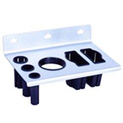 Подставка-держатель для фена, утюжка, плойки А-009W (000121)