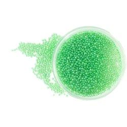 Бульонки в баночке - прозрачно-зеленые