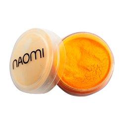 Акриловая пудра Naomi №4 - оранжевый неон, 3 г