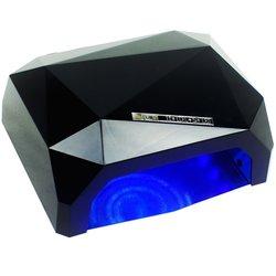 LED+CCFL лампа кристалл 36 Вт сенсор, черный