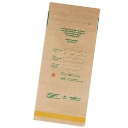 Крафт-пакет для паровой и воздушной стерилизации 100х200 мм, 1 шт