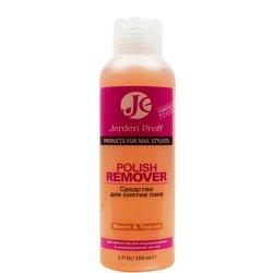 Жидкость для снятия лака Jerden Proff Polish Remover с ацетоном, манго-персик, 150 мл