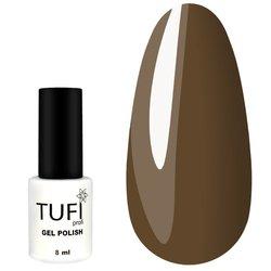 Гель-лак TUFI Profi №105 - коричневый с микроблеском, 8 мл