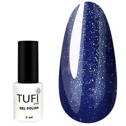 Гель-лак TUFI Profi №139 - лазурно-синий с микроблеском, 8 мл