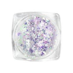 Хлопья Юки Tufi Profi №8 перламутровый, цвет блестящий пурпурный