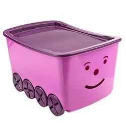 Корзина Smiley, фиолетовый (3978402Ю)