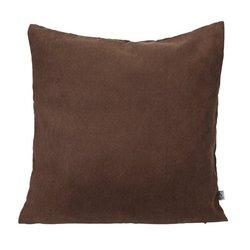 Чехол декоративный 40x40см, коричневый (4841126Ю)