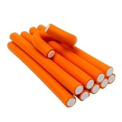 Бигуди-папильотки YRE - оранжевый, 14х235 мм