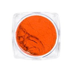 Пигмент для ногтей, с термо эффектом №8 — морковный
