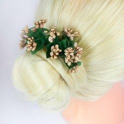 Украшения для волос, барбарис - золото