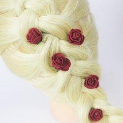 Розы риз фоамирана - бордо