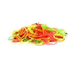 Резинки TUFI PROFI разноцветные 150 шт