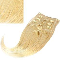 Волосы на заколках Diamond 222+15 см color 24BT613, 8 прядей, 45-47 см