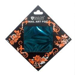 Фольга для литья Salon №6 - темно бирюзовый (глянец)