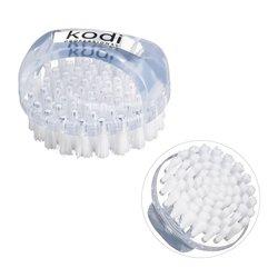 Щетка KODI круглая с ручкой для ногтей от пыли - прозрачная(20059002)