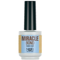 NUB Miracle Bond Base Coat - базовое покрытие для лака, 15 мл