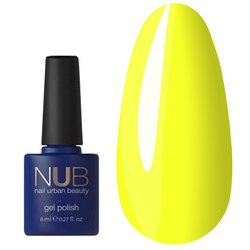 Гель-лак NUB №007 - yellow sensation, 8мл