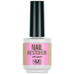 NUB Nail Restore - средство для восстановления ногтей с кератином, 15 мл