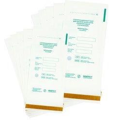 Крафт-пакет для паровой и воздушной стерилизации 100х200 мм, 100шт