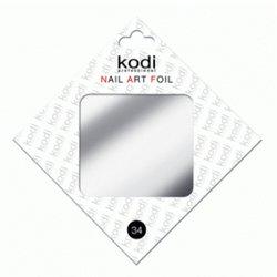 Фольга для литья Kodi Серебро №34
