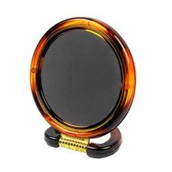 Зеркало YRE  двустороннее коричневое
