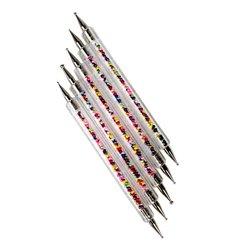 Дотс Starlet набор - пластик  с разноцветными бульонками, 5 шт