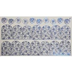 Слайдер дизайн №87 - синий (фольгированный)