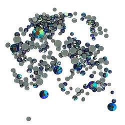 Стразы STARLET - MIX синий хамелеон, в упаковке, SS3-SS16