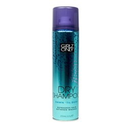 "Girlz Only Dry Shampoo Dawn Til Dusk - сухой шампунь для тусклых жирных волос ""От рассвета до заката"", 200мл"
