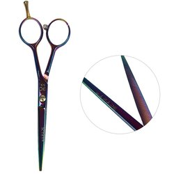 Ножницы для стрижки ESTET фиолетовый хамелеон 5.5 (эс)