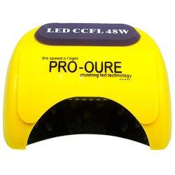 LED+CCFL лампа Powerful с козырьком 48 Вт, желтый