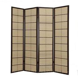 Ширма Viki - деревянный японский, 4 сегментный (бамбук)