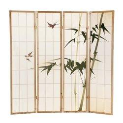 Ширма Viki - деревянный японский
