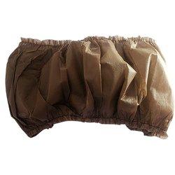 Топ на резинке - шоколад, L-XL