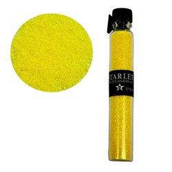 Декор песок в колбе STARLET желтый