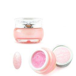 Глиттер-гель Canni Starry Gel №379 - нежный розовый, 10мл