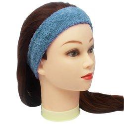 Повязка для волос YRE, сплошная - голубая, 1 шт