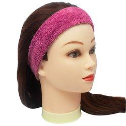 Повязка для волос YRE, сплошная - малиновая, 1 шт