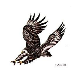 Трафарет для тату GM270 - орел