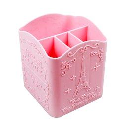 Подставка под кисточки YRE 4 секции розовая (G05)