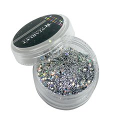 Декор брокат STARLET, серебро