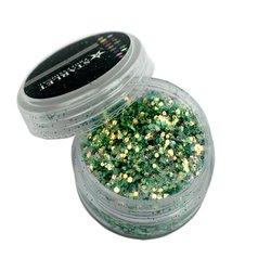 Декор брокат STARLET, светло-зеленый