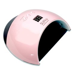 Лампа UV/LED Sun 6S розовая 48Вт с дисплеем