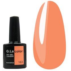 Гель-лак G.La color №163 - персиковый, 10 мл