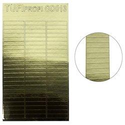 Металлизированные наклейки для ногтей TUFI Profi GD-013
