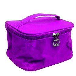 Косметичка-чемоданчик - фиолетовый маленький (CR-466)